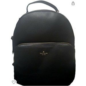 KATE SPADE LEATHER NICOLE LARCHMONT BLACK BACKPACK